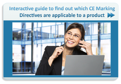 Interactive Guide to evaluate CE Marking Directives apply to a product